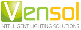 logo vensol intelligent lighting solutions